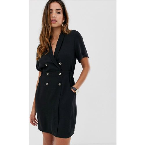 Robe smoking courte- - ASOS DESIGN - Modalova