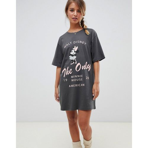 T-shirt de pyjama Minnie Mouse- - ASOS DESIGN - Modalova