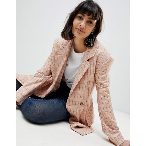 Blazer à carreaux- - ASOS WHITE - Shopsquare