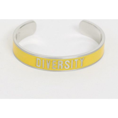 Diversity Collection - Bracelet avec slogan Diversity- - Benetton - Modalova