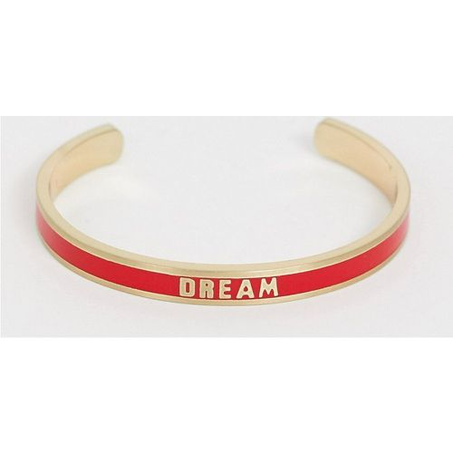 Diversity Collection - Bracelet fin avec slogan Dream- - Benetton - Modalova