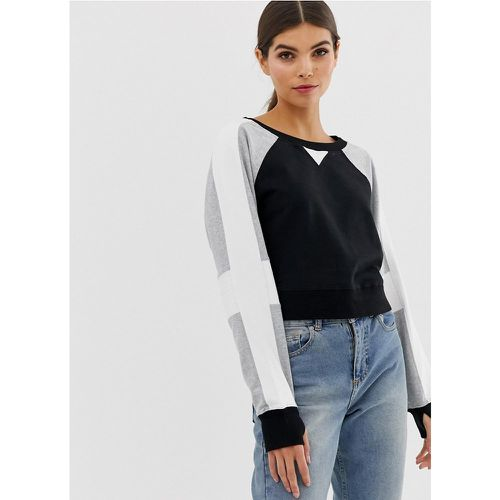 Flashback - Sweat-shirt- - Blanc Noir - Modalova