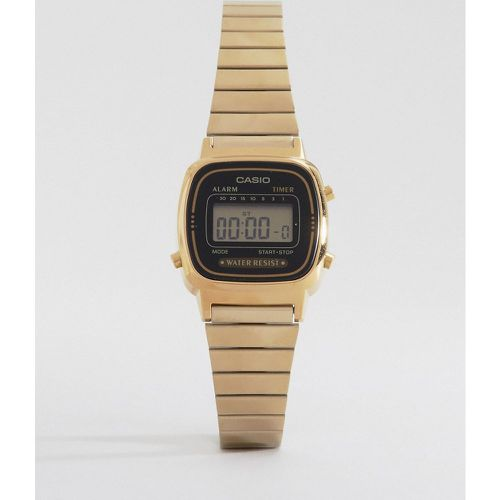 LA670WEGA-1EF - Mini montre digitale - et doré - Casio - Modalova