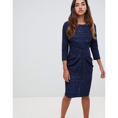Robe moulante avec jupe drapée- - closet london - Modalova
