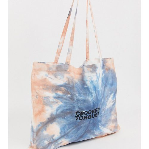 Tote bag effet tie-dye- - Crooked Tongues - Shopsquare