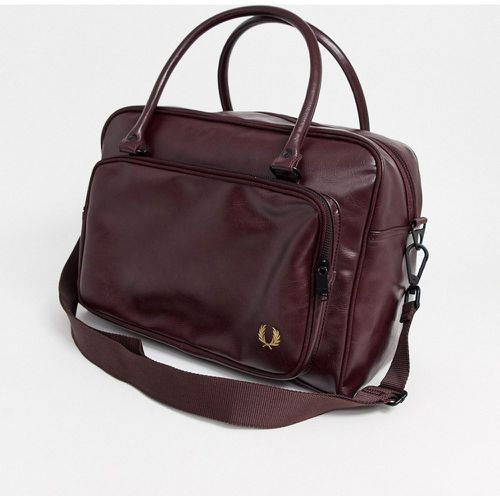 Sac de week-end - Bordeaux- - Fred Perry - modalova