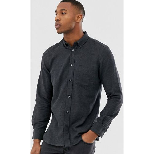 Chemise unie en flanelle - French Connection - Modalova
