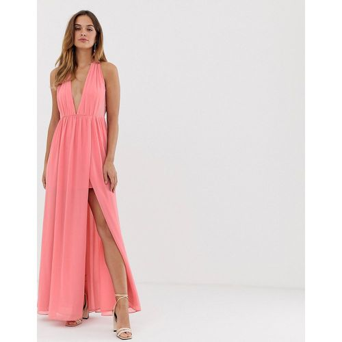 Robe longue fendue- - French Connection - Modalova