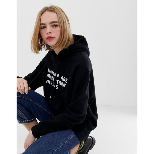 Amber - Hoodie à inscription muses- - House Of Holland - Shopsquare