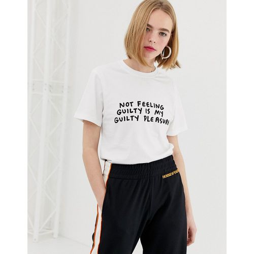 Amber - T-shirt à message guilty- - House Of Holland - Shopsquare