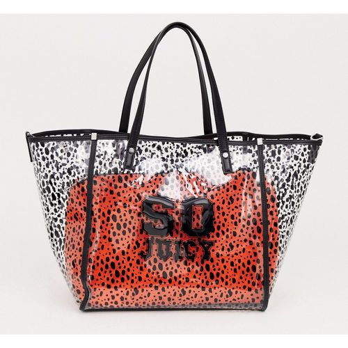 Juicy - arlington - Tote souple à pochette amovible rouge - Noir- - Juicy Couture - Shopsquare