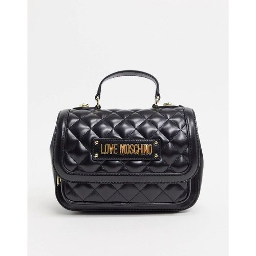 Cartable matelassé - Love Moschino - Modalova