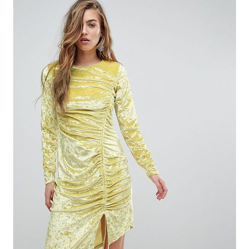 Miss Sefridge - Robe courte froncée en velours- - Miss Selfridge - Shopsquare