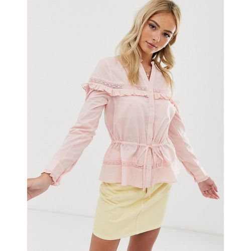 Blouse boutonnée - Miss Selfridge - modalova