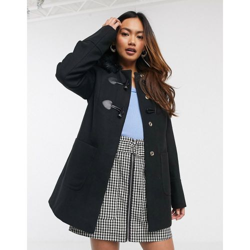 Duffle-coat - Noir- - Miss Selfridge - Modalova