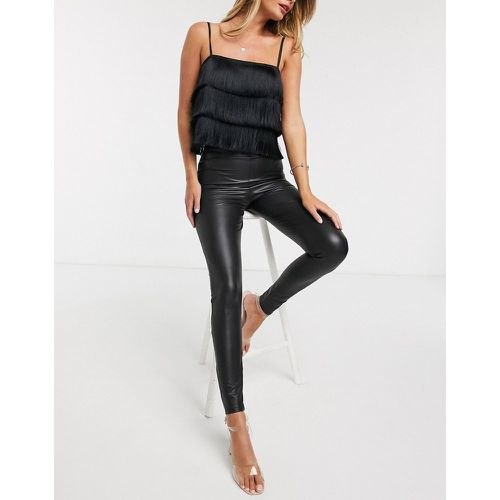Legging imitation cuir - Miss Selfridge - Modalova