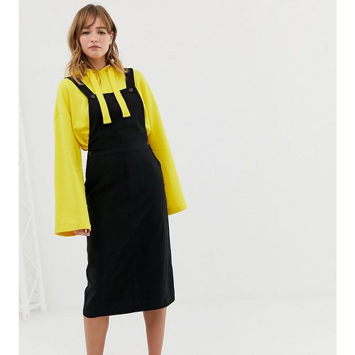 Monki - Robe salopette - Noir - Monki - Modalova