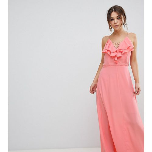 Maxi robe volantée- - New Look - Modalova