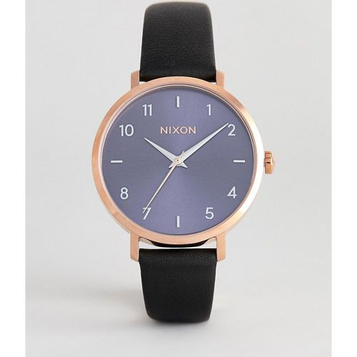 A1091 Arrow - Montre 38 mm en cuir - Bleu marine- - Nixon - Shopsquare