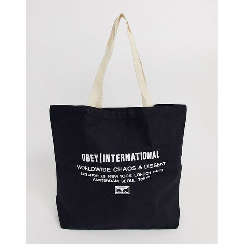 International Chaos & Dissent - Tote bag - Obey - Shopsquare