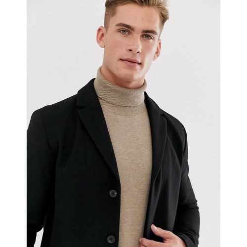 Manteau en laine recyclée- - Selected Homme - Modalova