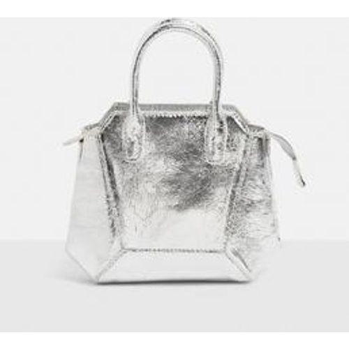 Sac à  ma métallisé craquelé Dolly - Missguided - Shopsquare