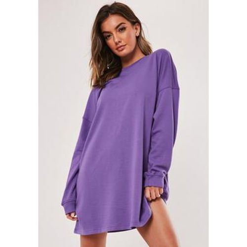 Robe pull violet oversize - Missguided - Shopsquare