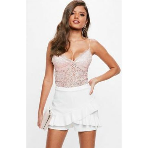 Jupe-short blanche, Blanc - Missguided - Shopsquare