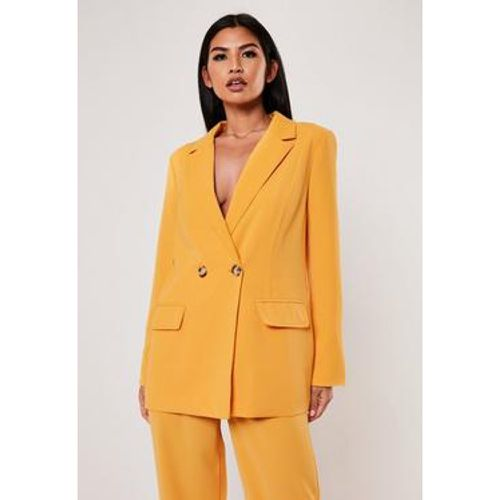 Long blazer jaune - Missguided - Shopsquare