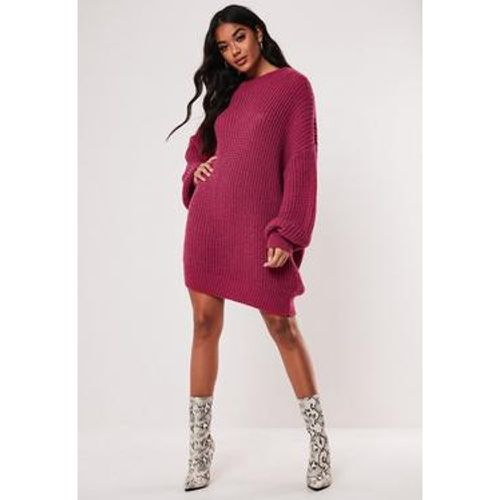 Robe pull rose à col rond oversize - Missguided - Shopsquare
