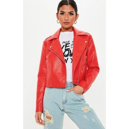 Perfecto simili cuir style biker - Missguided - Shopsquare