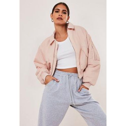 Veste bomber courte , - Missguided - Shopsquare