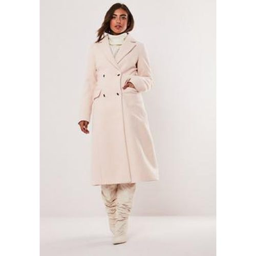 Long manteau nude, Nude - Missguided - Shopsquare