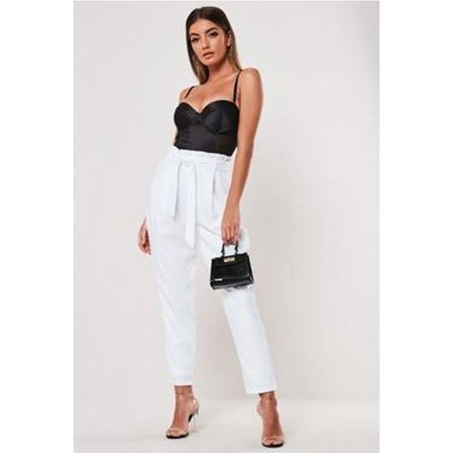 Pantalon cigarette taille haute - Missguided - Shopsquare
