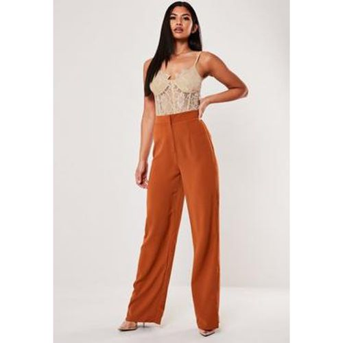 Pantalon large taille haute - Missguided - Shopsquare