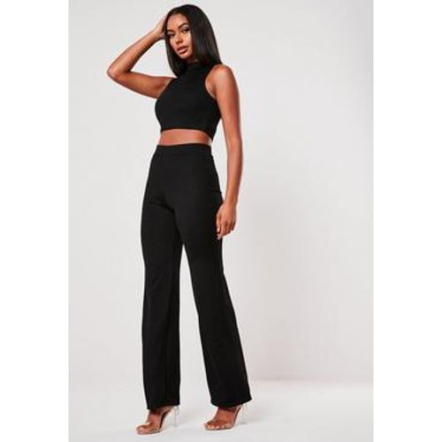 Set crop top col roulé et pantalon - Missguided - Shopsquare