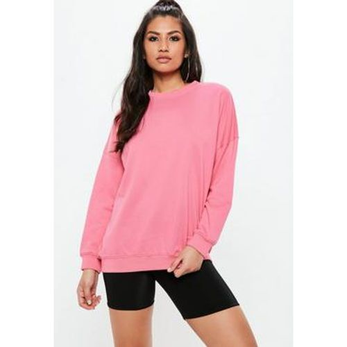 Sweat oversize rose simple - Missguided - Shopsquare