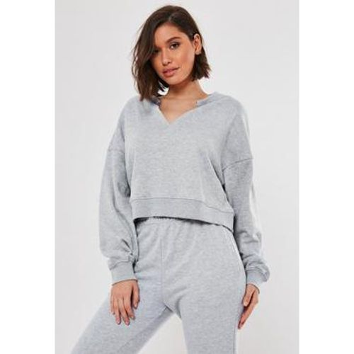 Sweat court gris oversize - Missguided - Shopsquare