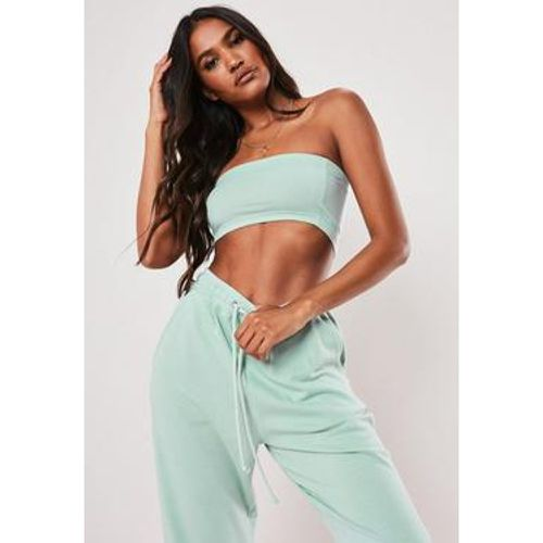 Crop top bustier vert menthe - Missguided - Shopsquare