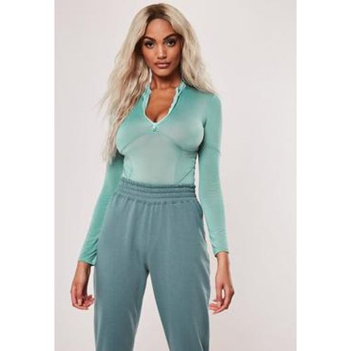 Body corset vert sarcelle - Missguided - Shopsquare