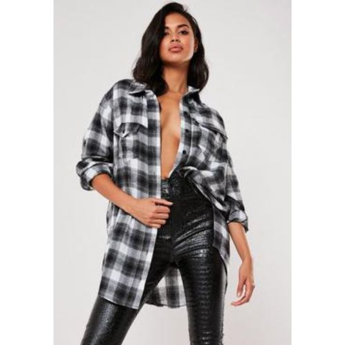 Chemise à carreaux oversize , - Missguided - Shopsquare