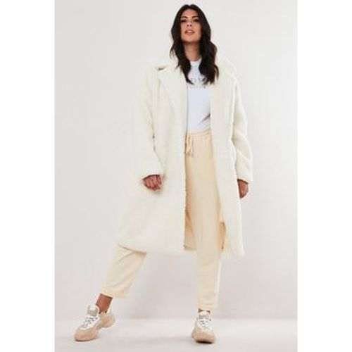 Manteau long nounours grandes tailles, - Missguided - Shopsquare