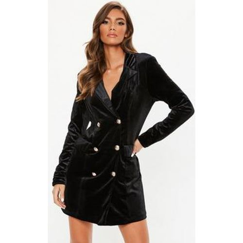 Robe-blazer en velours à boutons dorés Tall - Missguided - Shopsquare