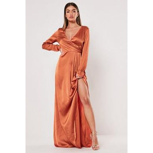 Robe portefeuille longue Grande - Missguided - Shopsquare