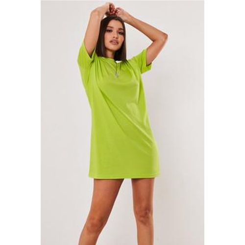 Robe t-shirt basique vert citron Tall - Missguided - Shopsquare