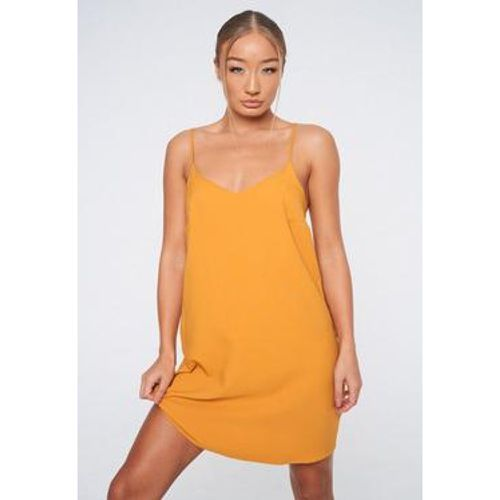Robe caraco jaune moutarde Petite - Missguided - Shopsquare