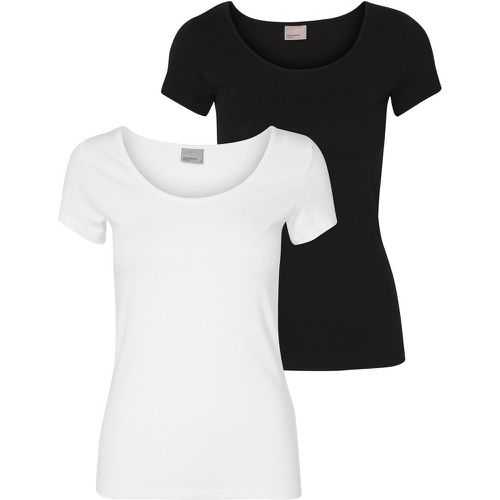 Lot De 2 Maxi T-shirt Women White - VERO MODA - Shopsquare