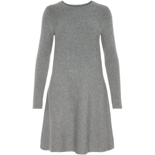 Manches Longues Robe En Maille Women grey - VERO MODA - Shopsquare