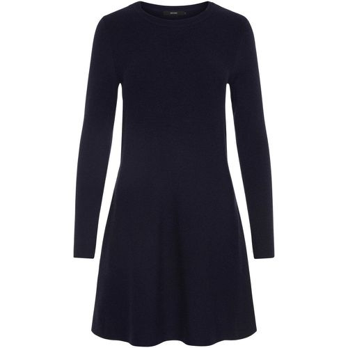 Manches Longues Robe En Maille Women blue - VERO MODA - Shopsquare