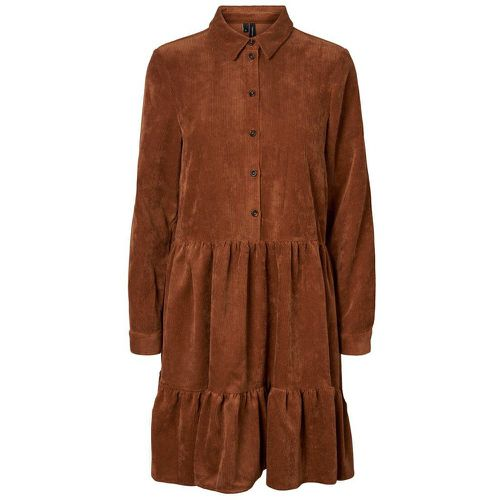 Chemise Tunique Women brown - VERO MODA - Modalova